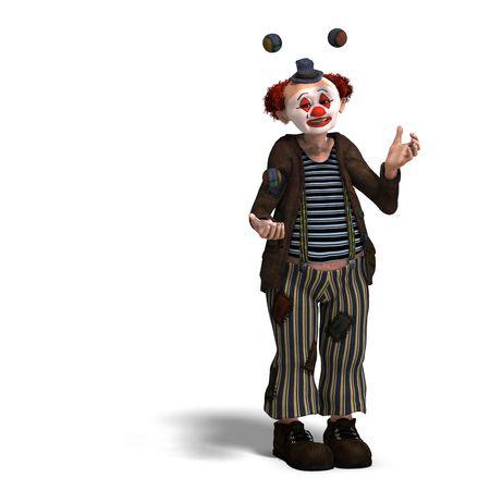 clown cirque: