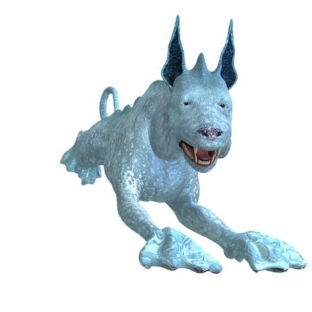 frisk: bizarre alien dog.