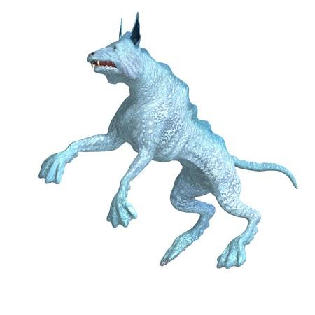 daemon: bizarre alien dog.