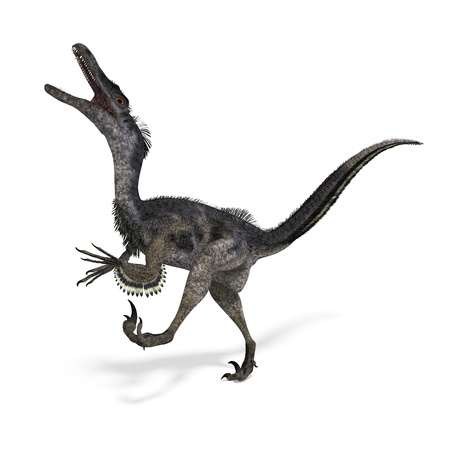 Velociraptor de dinosaurio Foto de archivo