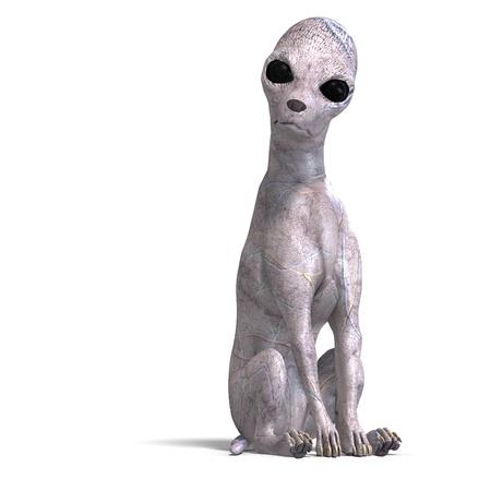 daemon: strange alien dog