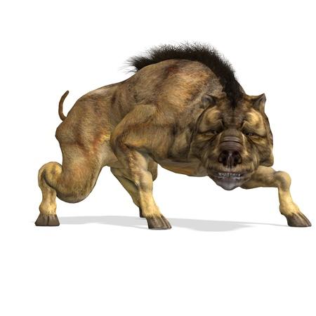 assail: Dinosaur Daeodon Dinohyus.