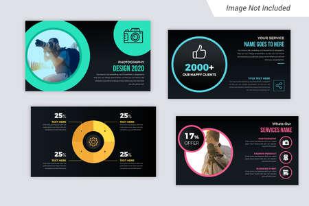 Purple Gradient color Business presentation Slides Design