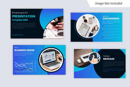Green Color Corporate Business presentation Slides Design