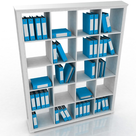 repository: office closet, isolated on a white background