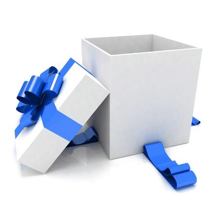 illustration of empty box for Christmas gift Stock Illustration - 11845290