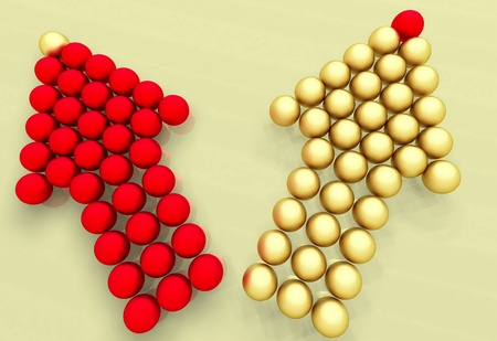 conceptual image of teamwork Stock Photo - 11845474