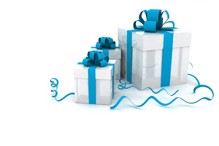 Illustration of boxes with christmas gifts Stock Illustration - 11845741
