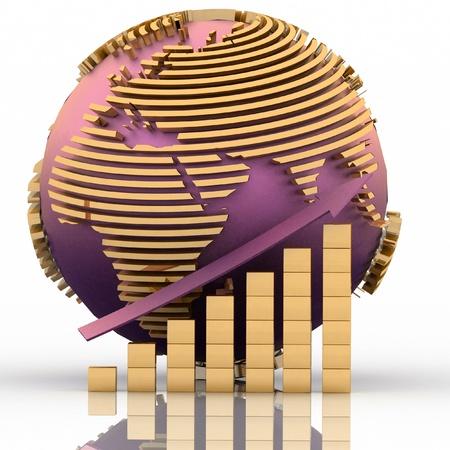 Global success concept Stock Photo - 11846279