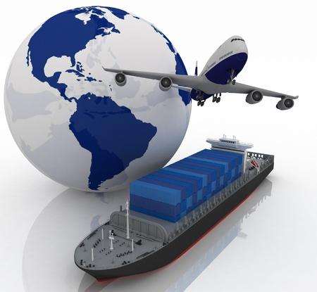 freight container: tipo de transporte de transporte de cargas son.