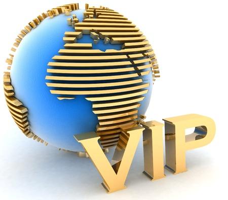 gouden VIP wereld europa Stockfoto