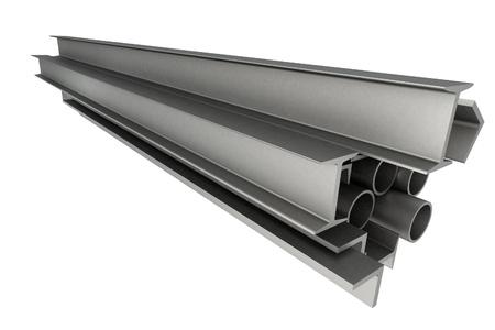 aluminum: High technology background - profiles