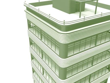 abstract modern skyscraper photo