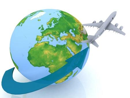 airplane travel photo