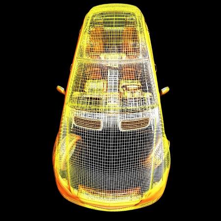 horsepower: 3d car model