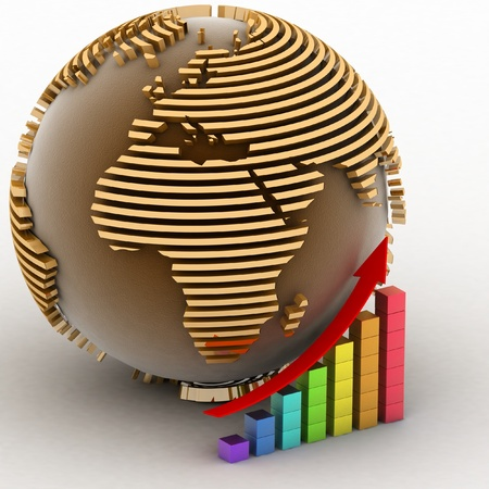 Global success concept Stock Photo - 11946726