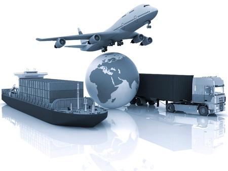 vormen van vervoer van het vervoer van zijn belastingen.