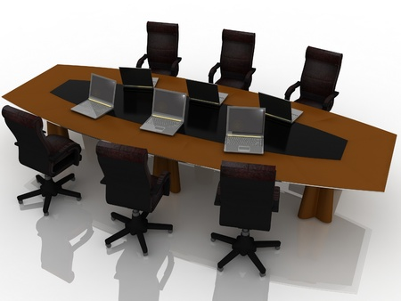 conference table Stock Photo - 11949124