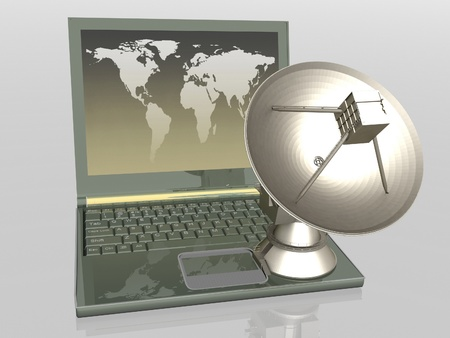 Global communication Stock Photo - 11985607