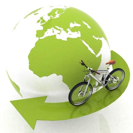 turismo ecologico: la concepci�n del turismo en un transporte ecol�gico