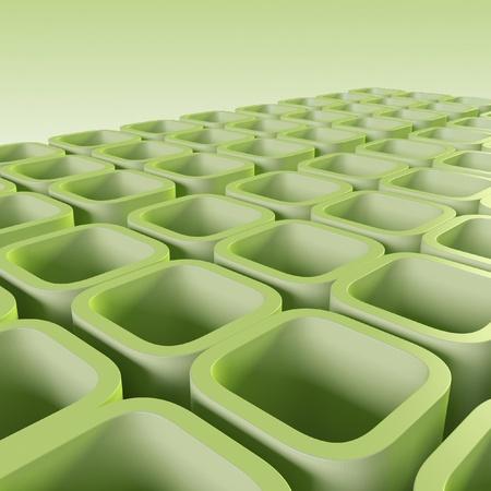 diagonals: green blocks