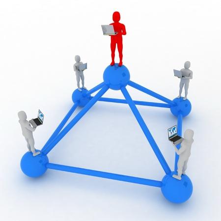 global computer network Stock Photo - 11985515