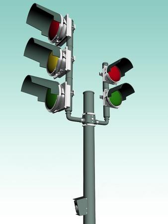 trafficlight: traffic-light Stock Photo