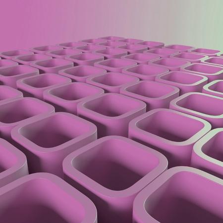 pink blocks Stock Photo