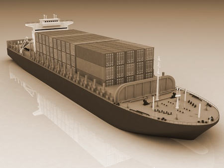Cargo ship Stock Photo - 12051206