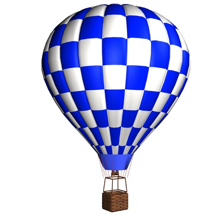 aerostat: 3d model hot air balloon