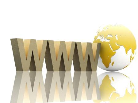 Internet concept Stock Photo - 12050640