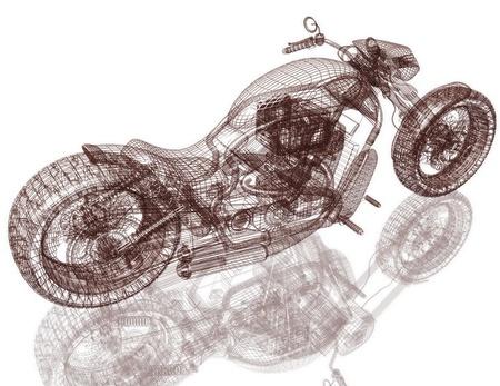 Motor cyclus street fighter