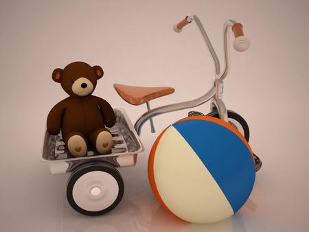 beautiful childs toys photo