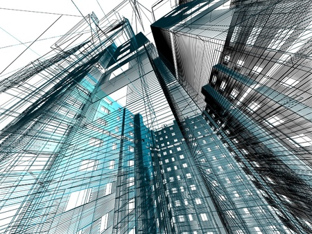 abstract modern architecture Stock Photo - 12051961