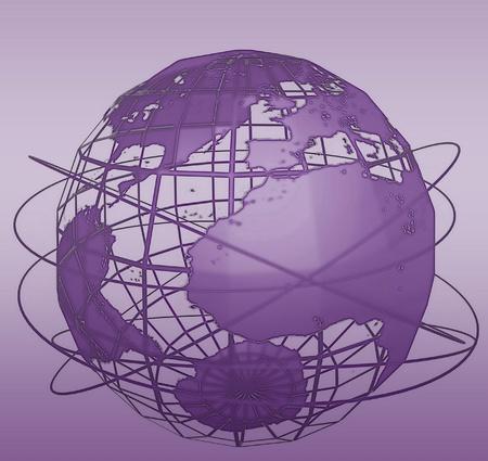 Global communication illustration illustration