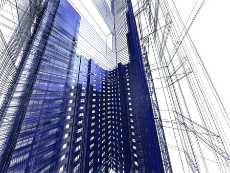 abstract modern architecture Stock Photo - 12051946