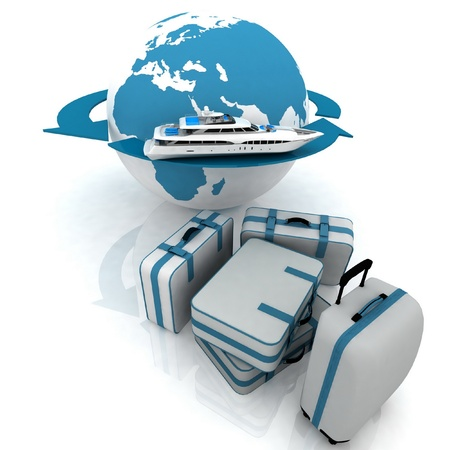 luggage for a round-world voyage Stock Photo - 12051717
