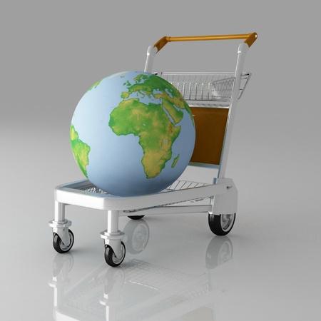 sacktruck: transportation of earth on a freight light cart