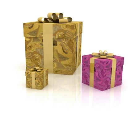 gift boxes Stock Photo - 12089643