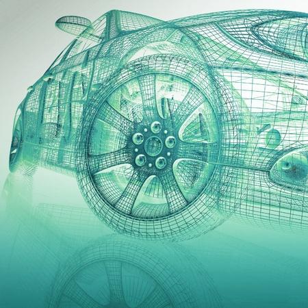 dibujo tecnico: Veh�culos de modelos 3D