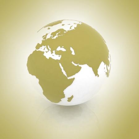 emanation: Globe of the world