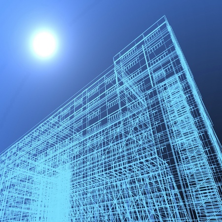 abstract modern architecture Stock Photo - 12114589