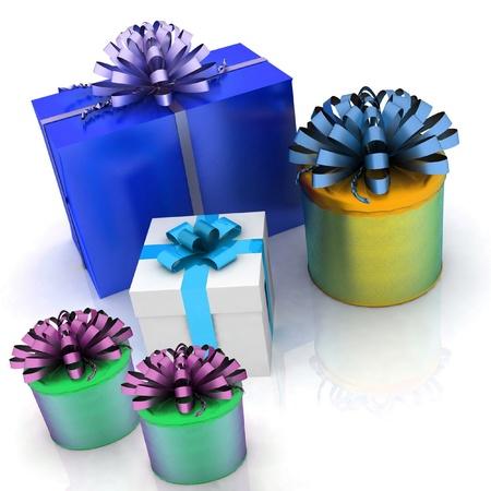 gift boxes Stock Photo - 12113847