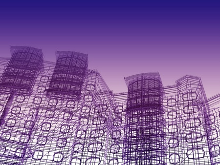 abstract modern architecture Stock Photo - 12114822