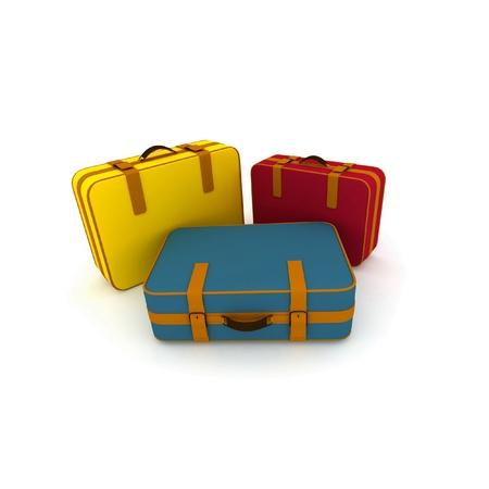 duffel: Suitcases
