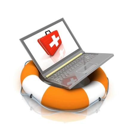 laptop repair: notebook lifesaver