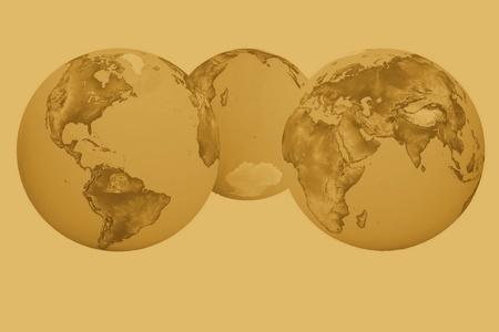 futurism:  futurism image of earth