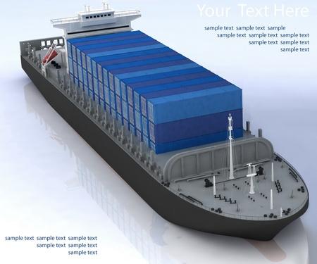 cargo ship Stock Photo - 12231027