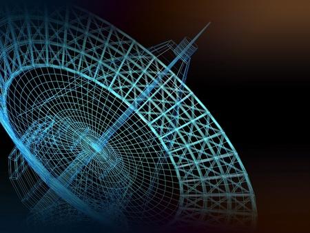 satellite dish Stock Photo - 12231089