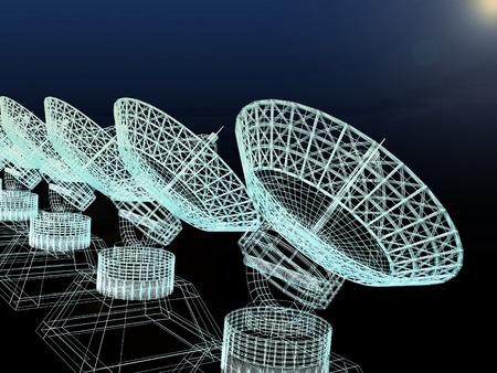 satellite dish Stock Photo - 12231113